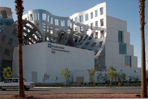 Lou Ruvo Center for Brain Health in Las Vegas by Frank Gehry in main architecture  Category