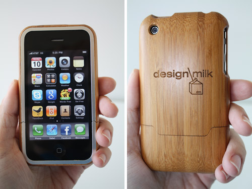 Engraved Bamboo iPhone Cases by Grove in technology  Category