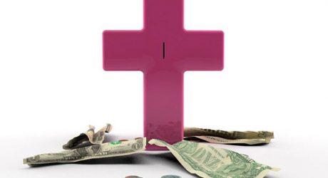 Jesus Saves Piggy Bank