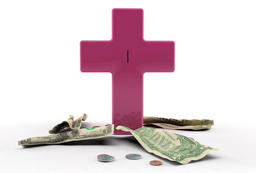 Jesus Saves Piggy Bank in home furnishings  Category