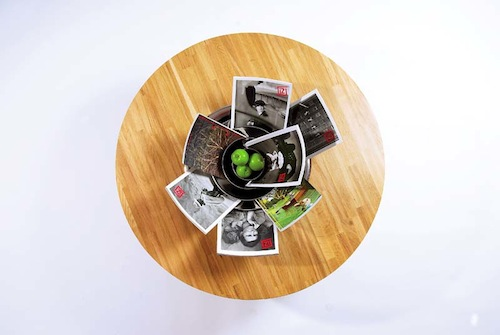 Kase Table by U-B Studio