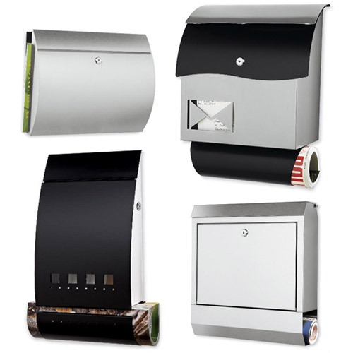 New Modern Mailboxes