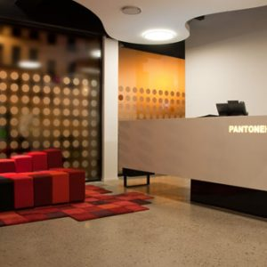 The Pantone Hotel in Belgium