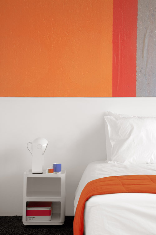 The Pantone Hotel in Belgium in interior design architecture  Category