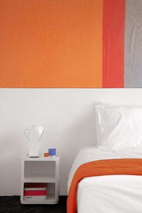 The Pantone Hotel in Belgium in main interior design architecture  Category