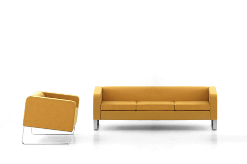 Pisa Sofa and Chair by Ramei Keum in main home furnishings  Category