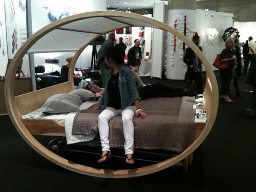 I took a photo of the Private Cloud by Manuel Kloker on the floor of ICFF,
