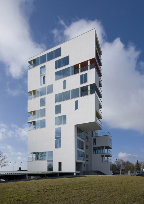 Siloetten in Denmark by C. F. Møller Architects in main architecture  Category
