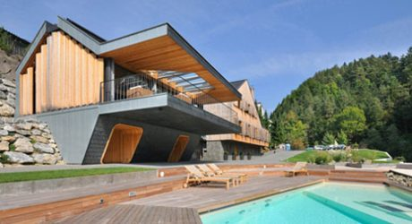 Two Homes in One in Slovenia by Superform