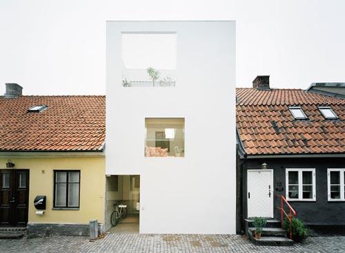 Townhouse in Sweden by Elding Oscarson