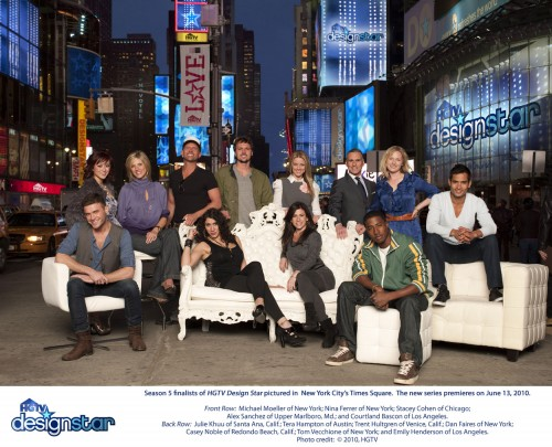 Design Star Season 5 Finale Twitter Party in main interior design  Category