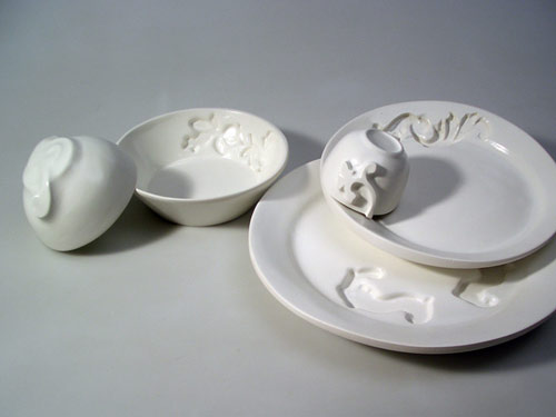 Functional Ornamental Dishes by Ariane Prin in main home furnishings art  Category
