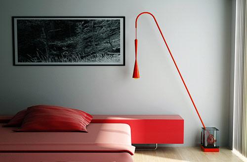 Chorong Lamp by Joongho Choi