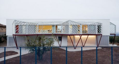 Casa Doble in Spain by Langarita Navarro Arquitectos