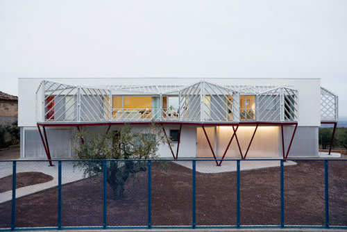 Casa Doble in Spain by Langarita Navarro Arquitectos