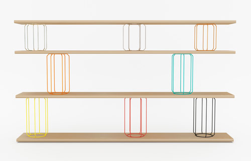 Circus Shelving by Stephen Burks