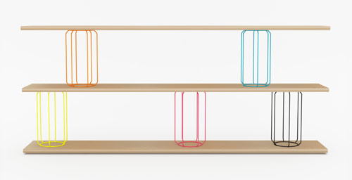 Circus Shelving by Stephen Burks in main home furnishings  Category