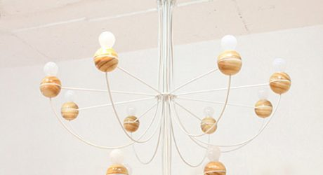 Semicircle Chandelier by Cho Hyung Suk