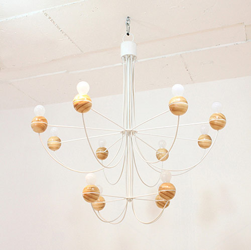 Semicircle Chandelier by Cho Hyung Suk in home furnishings  Category
