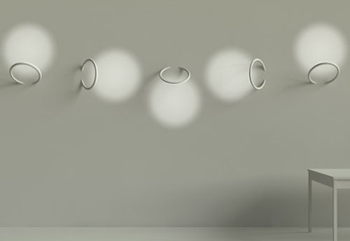Flos Wall Piercing Lights