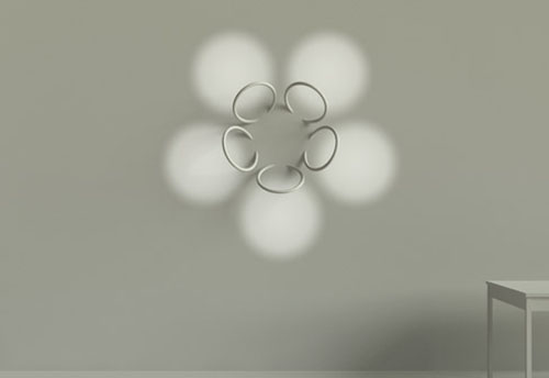 Flos Wall Piercing Lights in main home furnishings  Category