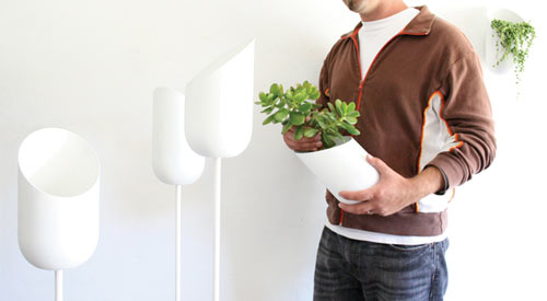 Modern Planters from Wallter in main home furnishings  Category