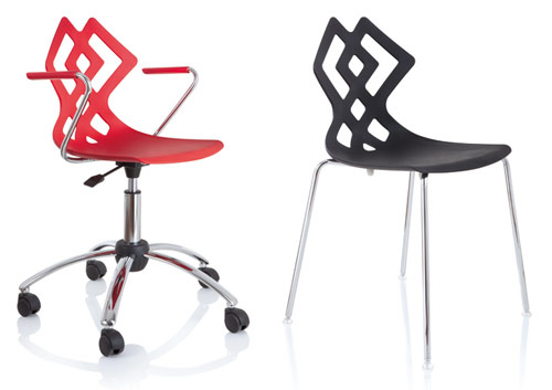 Zahira Chair from Alma Design in main home furnishings  Category
