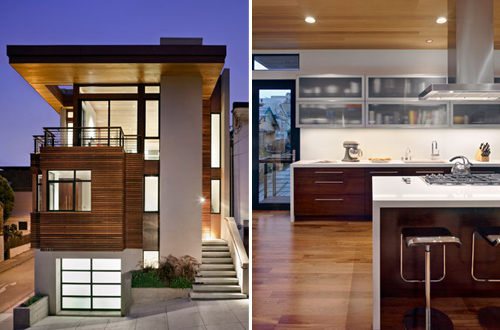 Bernal heights residence in california by sb architects - Residence calistoga strening architects californie ...