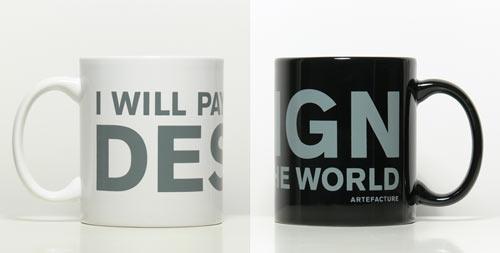 Artefacture Design Mugs
