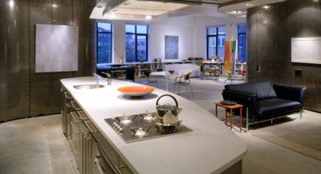 Artist's Loft in Boston by Della Valle Bernheimer