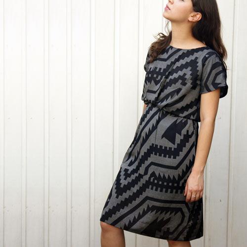 Bhalo Silk Sack Dress