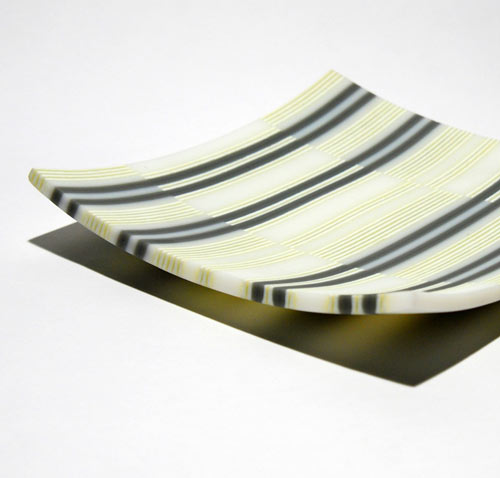 Handmade Glass Platters from Carol Kipling in home furnishings  Category