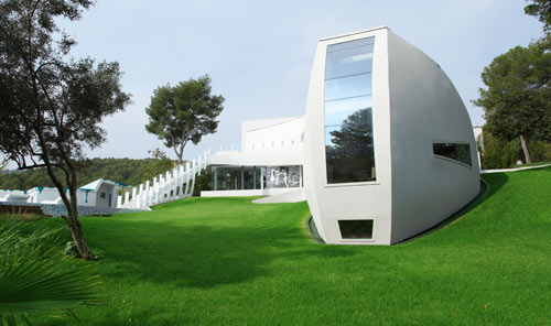 Casa Son Vida 1 in Spain by tecArchitecture and Marcel Wanders