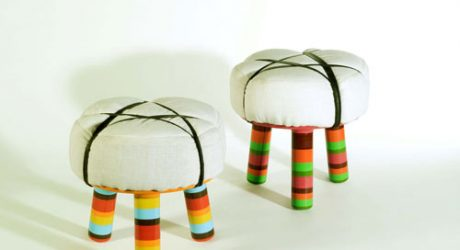 Axum and Lalibella Stools by David Keller