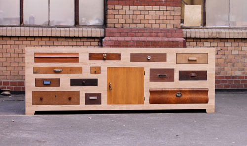 Discarded Drawer Dressers by Entwurf Direkt in main home furnishings  Category