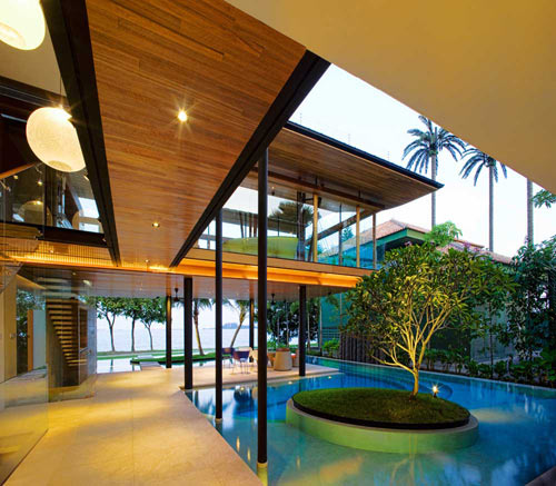 Fish House in Singapore by Guz Architects