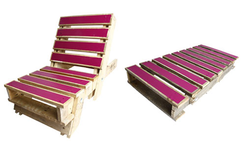 foldout pallet chair 3