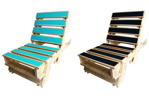 foldout pallet chair 4