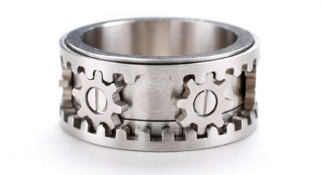 Gear Ring by Kinekt Design