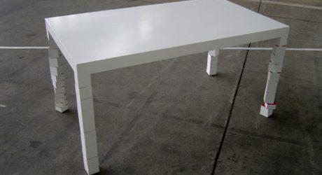 Pixa 1 Table by Hellauf