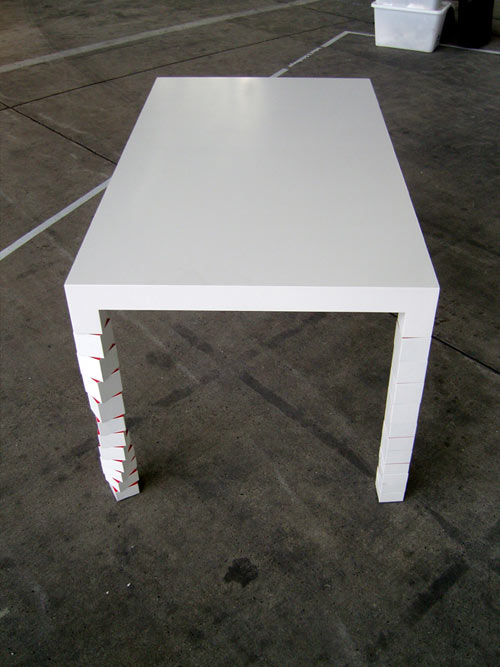Pixa 1 Table by Hellauf in home furnishings  Category