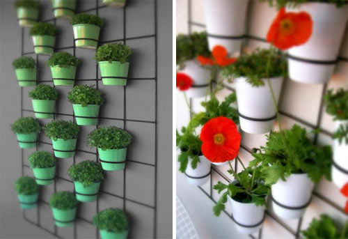 Insitu Wall Planters in main home furnishings  Category