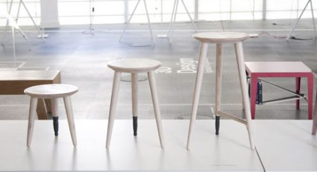 Milk Stools by Ellen Thomas