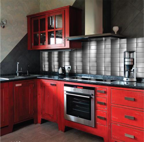 Neelnox Stainless Steel Mosaic Tiles