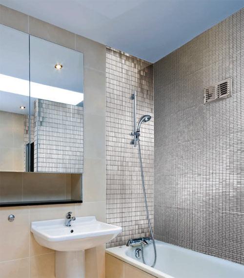 Neelnox Stainless Steel Mosaic Tiles Design Milk