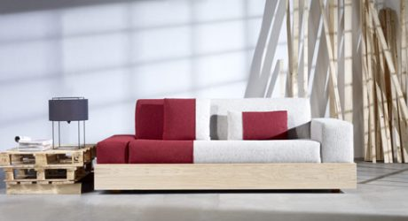 Palet Sofa by Stone Designs