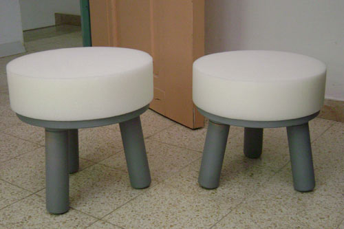 Axum and Lalibella Stools by David Keller in home furnishings  Category