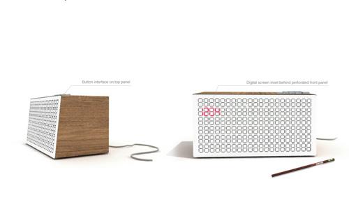 Rich Brilliant Willing Clock Radio Design Milk