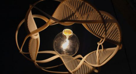 The Ribbons of Life Lamp