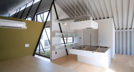 Shell House in Japan by Far East Design Lab